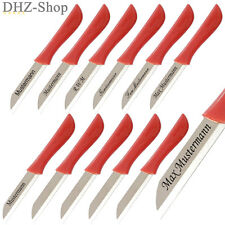 12x Solingen Schälmesser Küchenmesser Obstmesser Gemüsemesser  Messer mit Gravur