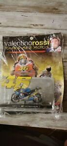 Moto gp Valentino Rossi vr46 Aprilia rs 125 wold championship 1996 neuf altaya