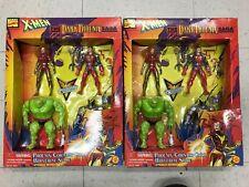 2 Marvel Comics X-Men The Dark Phoenix Saga Set of 4 Figures ToyBiz MISB 1995