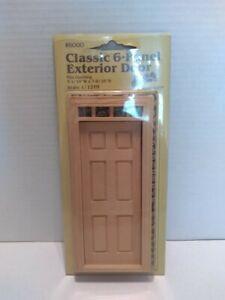 c Houseworks 6012 Cross Buck Door Dollhouse Miniatures