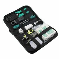 11pcs/set RJ45 RJ11 RJ12 CAT5 CAT5e Portable LAN Network Repair Tool Kit Utp Cab