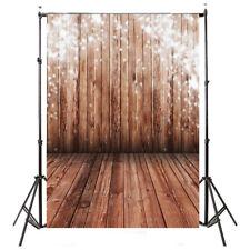 5x7FT Vinyl Photography Backdrop Photo Background, Brown wood floor W3I7