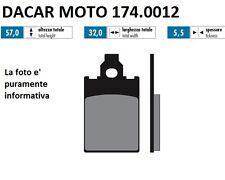 174.0012 PASTILLA DE FRENO ORIGINAL POLINI MBK : X-LIMIT 50 Minarelli AM6