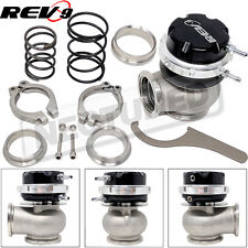 Rev9 RS 40mm V Band Wastegate Actuator Black w/ 5 10 11 psi Spring Clamp Flange