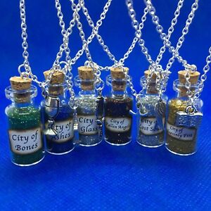 Mortal Instruments [Shadowhunters] Magic Potions Bottle Charms Necklace - NEW