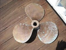 propeller,bronze vintage 20 inch marine nautical decor boat right hand