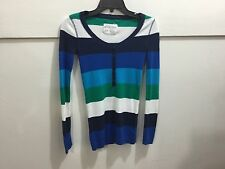 Aeropostale XS ladies striped pull over sweater