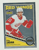 2019-20 OPC Platinum RETRO PARALLEL #R-68 FILIP ZADINA RC Rookie Red Wings