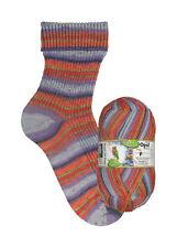 Opal Color Probierpaket 4 fach Sockenwolle 8x100gr. GP 41,25 je 1000gr