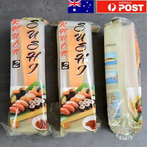 3-pack Sushi Maker Kit 4Pcs Sushi Rice Roller Mold Sushi DIY Tool