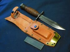 A+ Vietnam War Us Pilot Survival Fighting Knife Ontario 1973 Army Usn Usmc Usaf