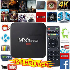 Internet TV Box Wifi MXQ Pro Quad Core S905 Android 6.0 4K Ultra HD Media Player