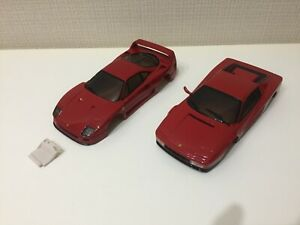 USED Very Rare Kyosho MINI-Z Racer 2Body SET Ferrari F40&TESTAROSSA  from Japan