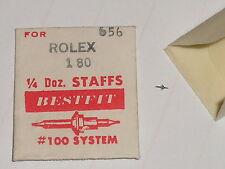 "Rolex balance staff F 180 5"" Bestfit 656 axe de balancier / Unruhwelle"