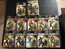 GI JOE 25th anniversary lot Snake Eyes Storm Shadow Spirit Mutt Scarlett READ!!