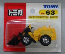 Unopened TOMY JAPAN Tomica #63 FURUKAWA WHEEL LOADER FL140 BLISTER CARD PACKING