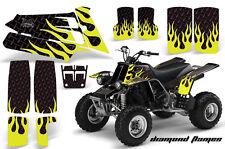 AMR Racing Yamaha Banshee 350 Decal Graphic Kit ATV Quad Wrap  87-05 DMNDFLAME Y