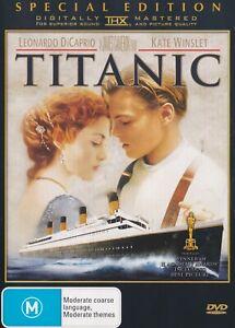 Titanic 2x disc DVD Special Edition VGC Region 4 Leonardo DiCaprio Kate Winslet