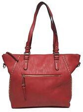 Jessica Simpson Misha Top Zip Tote, Scarlet Color - MSRP: $118.00