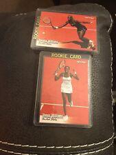 VENUS & SERENA WILLIAMS TWINS TENNIS SUPERSTARS 2003 NETPRO ROOKIE CARDS X2 HOT!