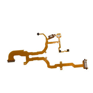 New Lens Back Main Flex Cable Part For Sony DSC-RX100 RX100 Camera With Socket