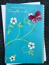 Special Daughter-In-Law 3-D American Greetings Birthday Card