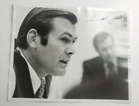 "PHOTO PICTURE 8"" X 10"" SIGNED AUTOGRAPH DONALD RUMSFELD SECRETARY OF DEFENSE"