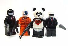 Lego custom - - Suicide Squad 4 Henchmen set - - joker batman Superheroes DC