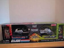 G.I.Joe Exclusive Past and Present Rockslide ATAV and Snow Job