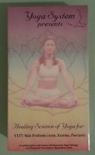 yoga system  HEALING SCIENCE OF YOGA for VT37 skin problems    VHS VIDEOTAPE