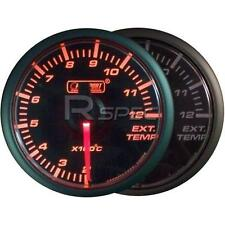Prosport 45mm Exhaust Gas Temperature EGT Gauge Amber / Clear Stepper Motor