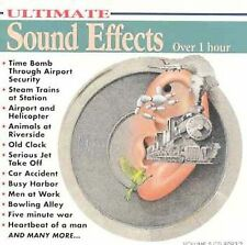 FREE US SHIP. on ANY 2 CDs! ~LikeNew CD : ULTIMATE SOUND EFFECTS
