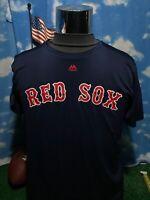 Boston Red Sox evolution Tee majestic medium Shirt T-Shirt dri-fit C23