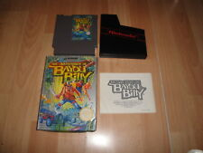 THE ADVENTURES OF BAYOU BILLY DE KONAMI PARA LA NINTENDO NES USADO COMPLETO