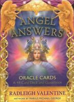 Angel Answers Oracle Cards : A 44-card Deck and Guidebook, Cards by Valentine...