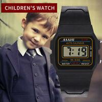 New Childrens Electronic Digital Boys Sports LED Kids Waterproof Wrist Watch HOT