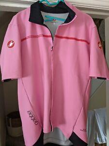 Castelli pink Gabba jacket XXL