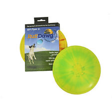 K-9 FLYER JR  - Ruff Dawg Asst Rubber Flexible Soft Catch Frisbee Small Dog Toy
