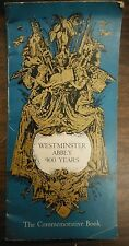 1966 WEstminster Abbey 900 Years The Commemorative Book Westerham Press 1216SM