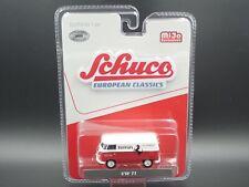 SCHUCO VW VOLKSWAGEN FERRARI T1 BUS EUROPEAN CLASSICS MiJo EXCLUSIVES 1:64 CAR