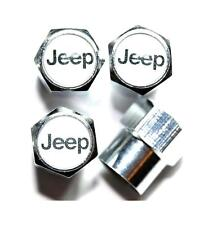 Wheel Tyre Valve Caps for JEEP CHEROKEE PATRIOT WRANGLER COMMANDER GRAND COMPASS