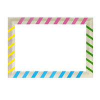 Birthday Wedding Party Photo Booth Multicolour Large Size Frame Selfie Props 1pc