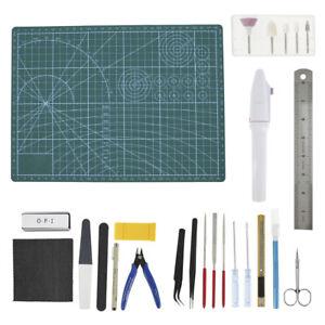 26Pcs Gundam Model Tools Kit Hobby Craft Building Modeler Starter DIY Tools Set