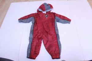 Infant/Baby Tampa Bay Buccaneers 12 Months Hooded Jacket Outfit Romper Reebok