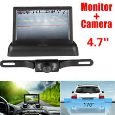 2020 Rear View Backup Camera and 4.3 LCD Rear View Mirror Monitor Kit For Car US