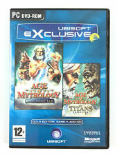 Jeu Age of Mythology + The Titans Expansion Add-on Sur PC Gold Edition
