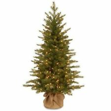 nordic 4 green spruce artificial christmas tree with 200 clear lights - Table Christmas Tree