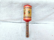1930s Vintage Animals Maraca Musical Instrument Bell Sound Celluloid Toy Japan