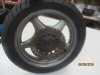 3. Suzuki VX 800 Vs 51 B Cerchione Posteriore 3,50 x 17 Ruota 150/70-17 Laser