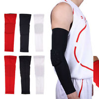 Honeycomb Basketball Elbow Support Arthritis Brace Arm GYM Sleeve Pad Wrap Guard